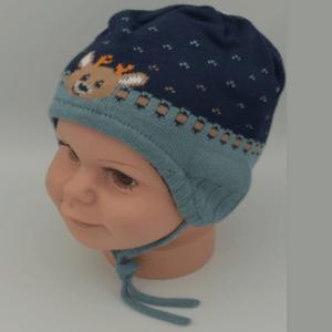 Maximo Baby Wintermütze Elch