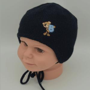 Winter Babymütze Bär