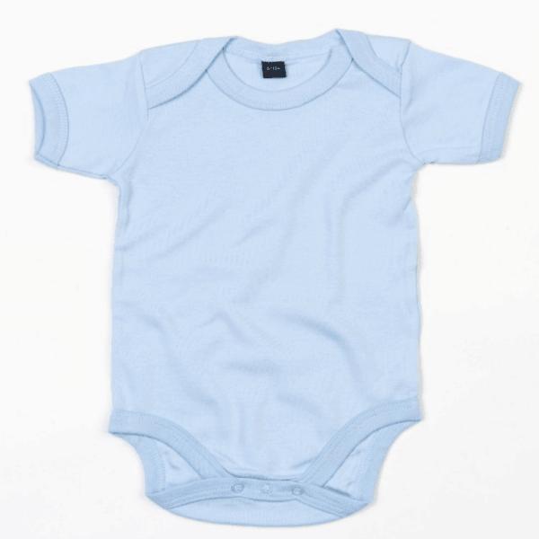 Baby Body unifarben hellblau