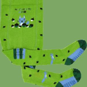 Strumpfhose für kinder in der Farbe grün