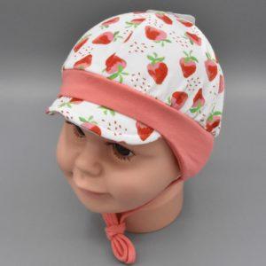 Baby Sommermütze Erdbeere