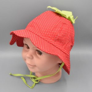 Maximo Sommermütze Erdbeere