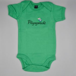 Baby Body Flügagwicht grün