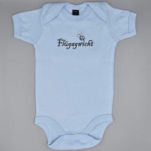 Baby Body Flügagwicht hellblau
