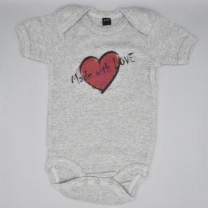 Baby Body Love grau