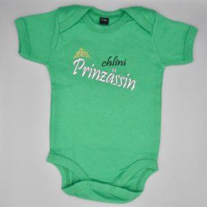Baby Body Prinzessin grün