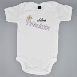 Baby Body Prinzessin weiss