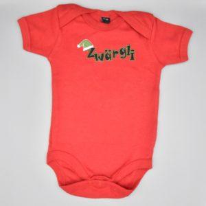 Baby Body Zwärgli rot