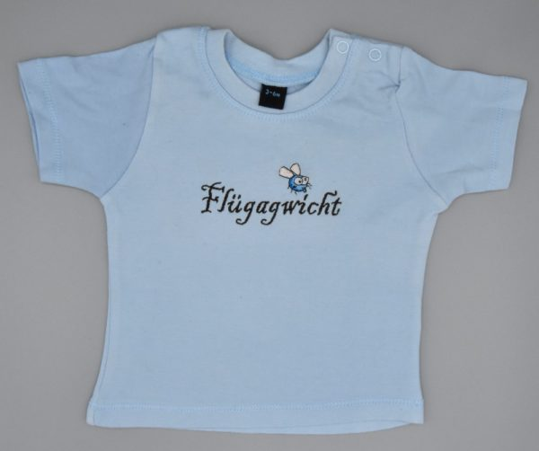 Baby T-Shirt Flügagwicht hellblau
