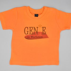 Baby T-Shirt Genie Orange