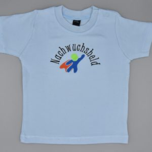 Baby T-Shirt Held hellblau