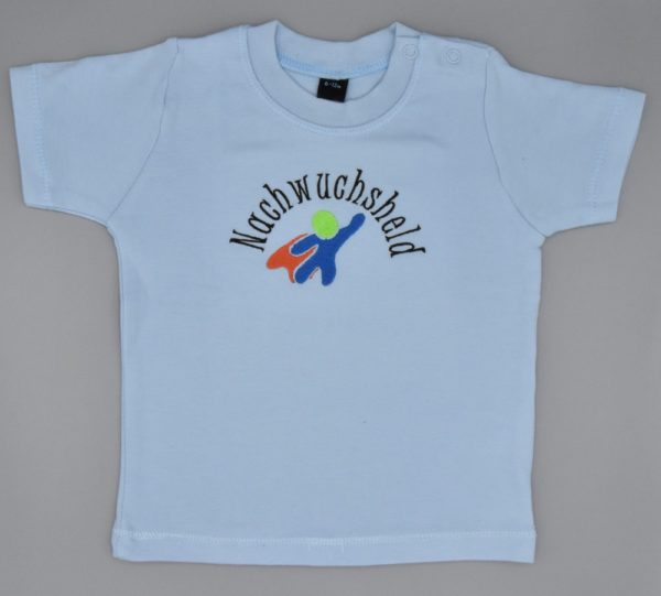 Baby T-Shirt Held hellblau
