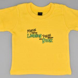 Baby T-Shirt Liebling 3-6 Monate