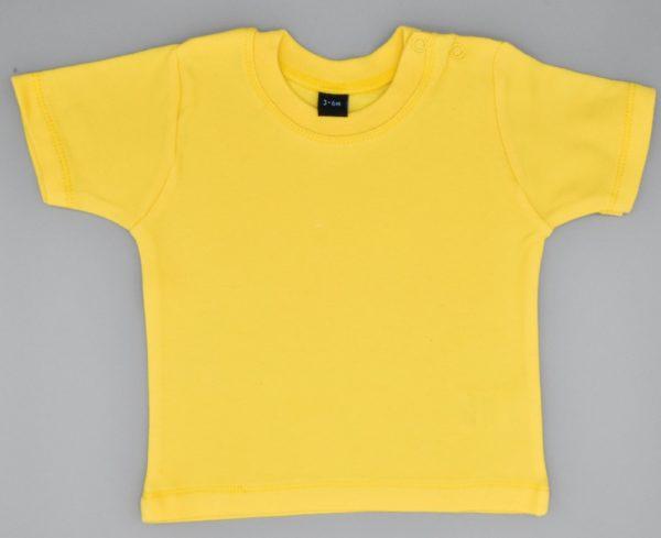 Baby T-Shirt gelb