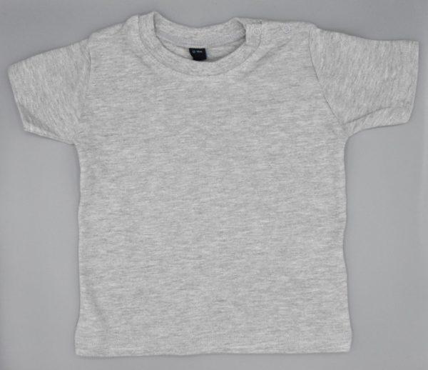 Baby T-Shirt grau