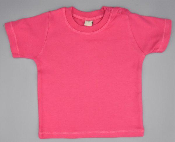 Baby T-Shirt pink 6-12 Monate