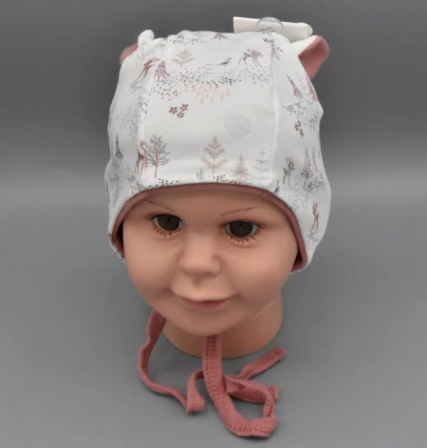 MAXIMO Babymütze Reh Detail1